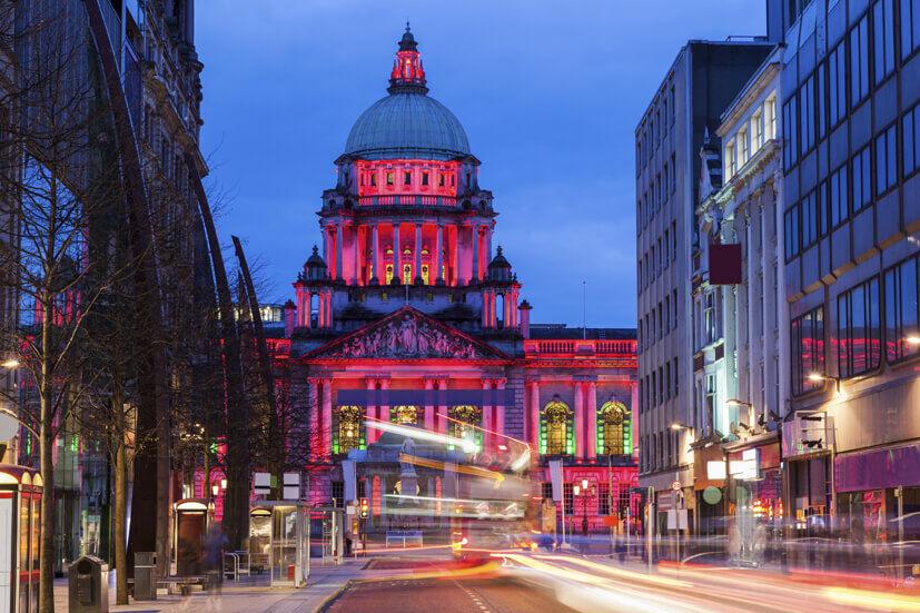 Queens Belfast building
