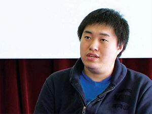 Chinese male student