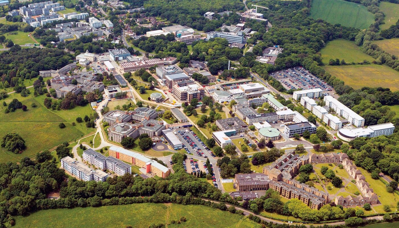 University of Kent aerial image