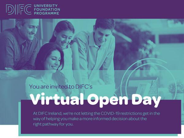 Invitation to DIFC's virtual open day
